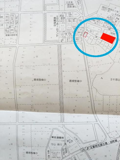 中能登町の新築用地(3区画)
